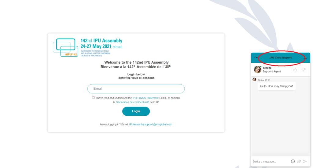 IPU chat widget 1